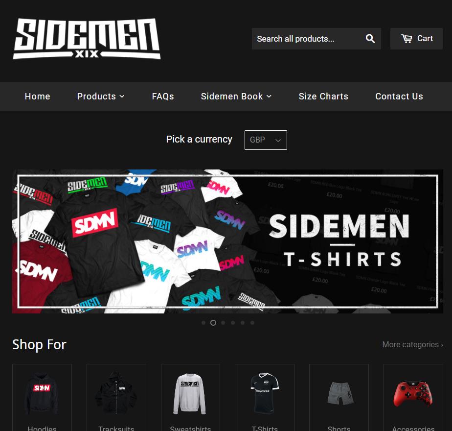 Sidemen Clothing